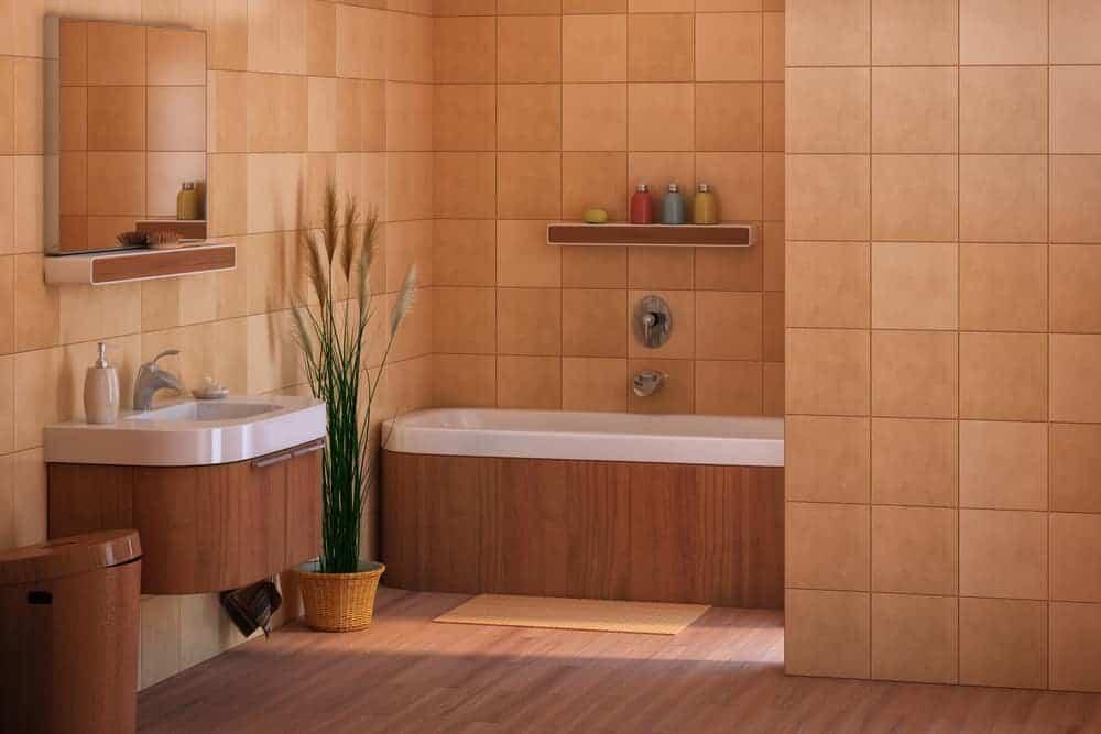 Bathe in Brown