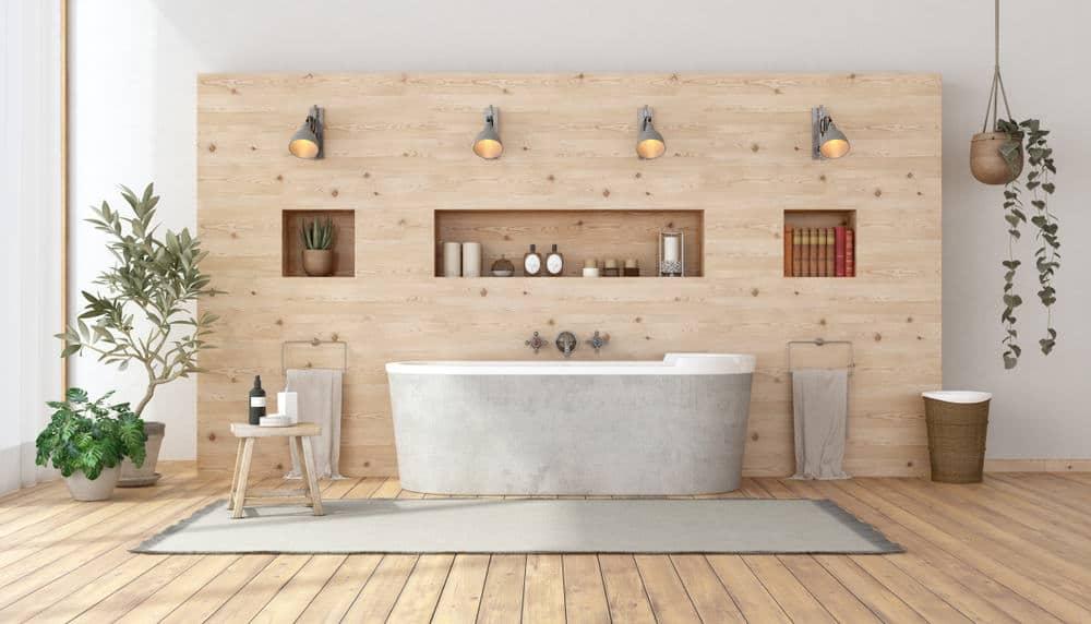 Bathroom Backboard