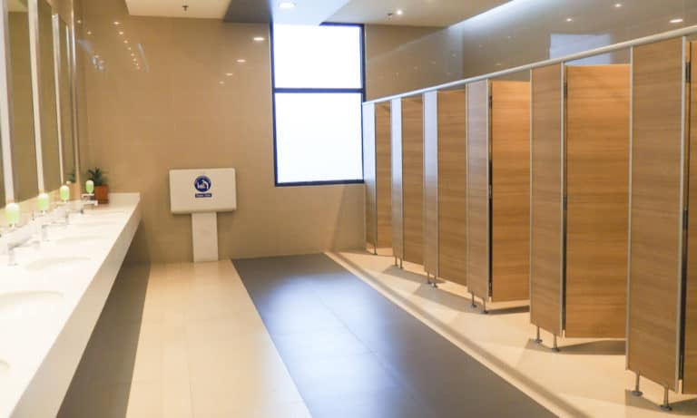 Bathroom Stall Dimensions - Standard Bathroom Stall Size