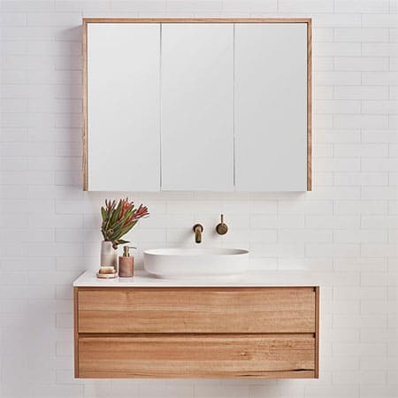 Make a Floating Bathroom Vanity