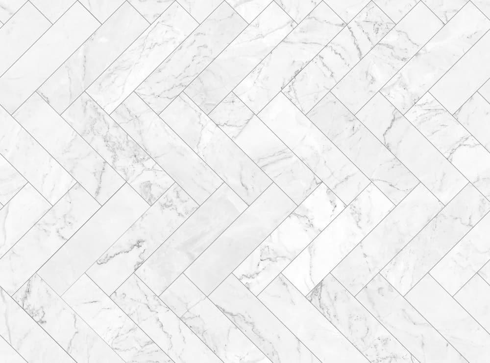 Marble Herringbone