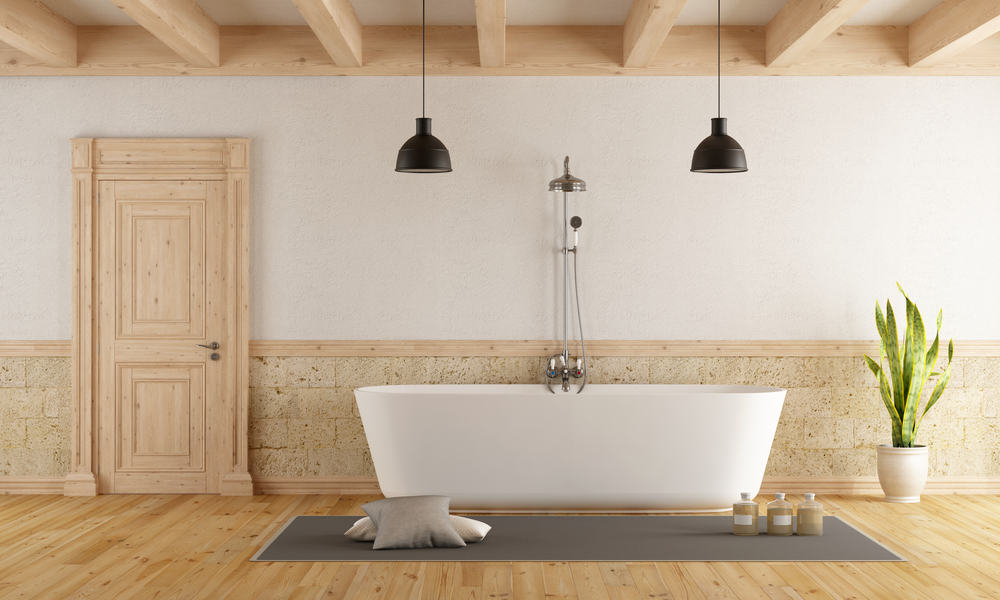 Semi-rustic Bath