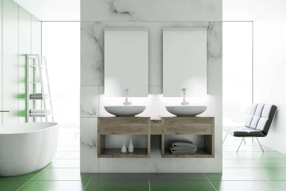 Simple Round Bathtub