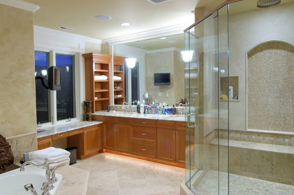 Spacious Wooden Cabinets
