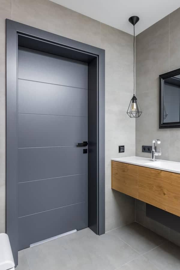 The Best Material for Bathroom Doors