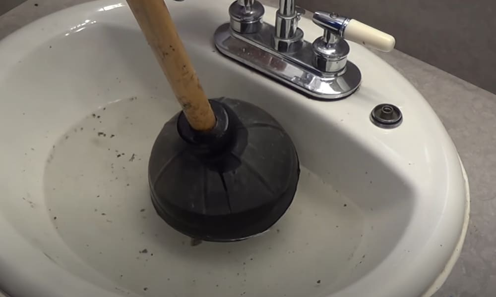 Try the plunger