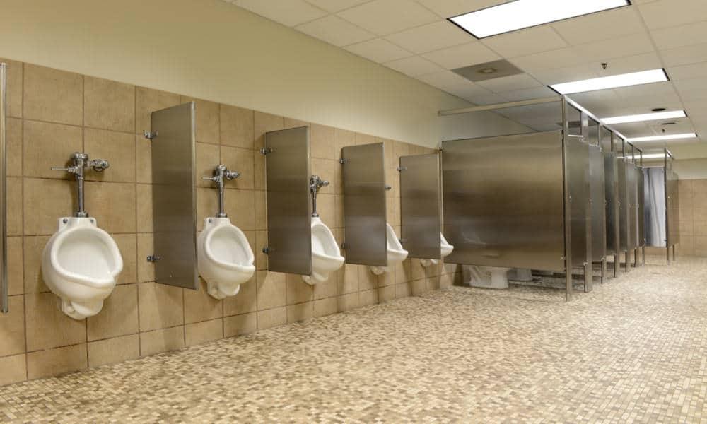 Urinal stalls dimensions