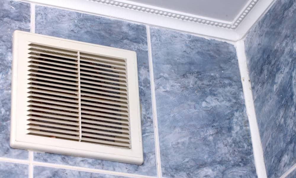 Wash the ventilation fan cover