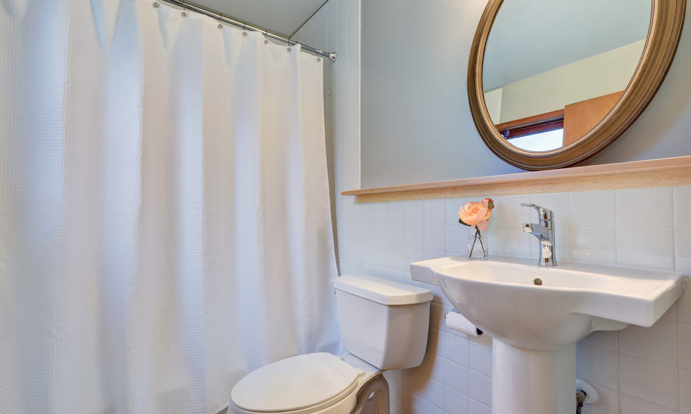 Get Rid of Black Mold from Shower Curtains