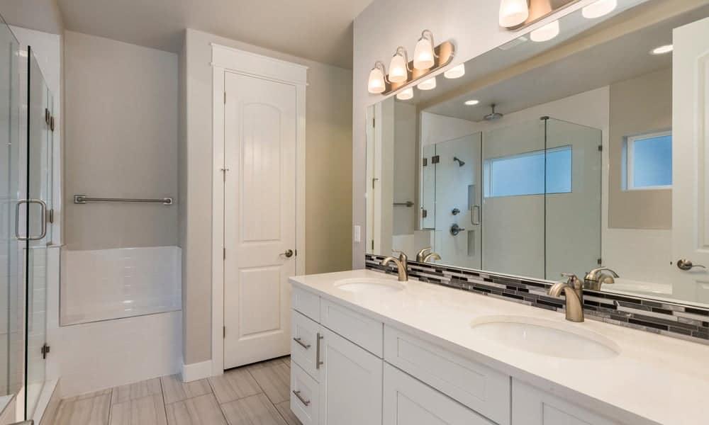 Bathroom Backsplash Ideas Tile Sink, Bathroom Tile Backsplash Ideas