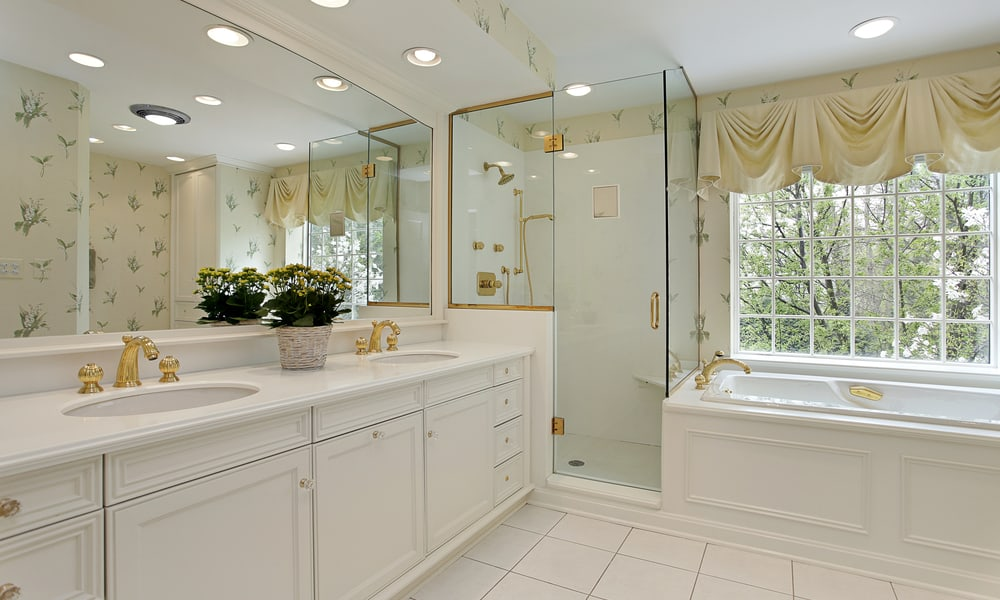 31 Bathroom Lighting Ideas - Shower Light Ideas
