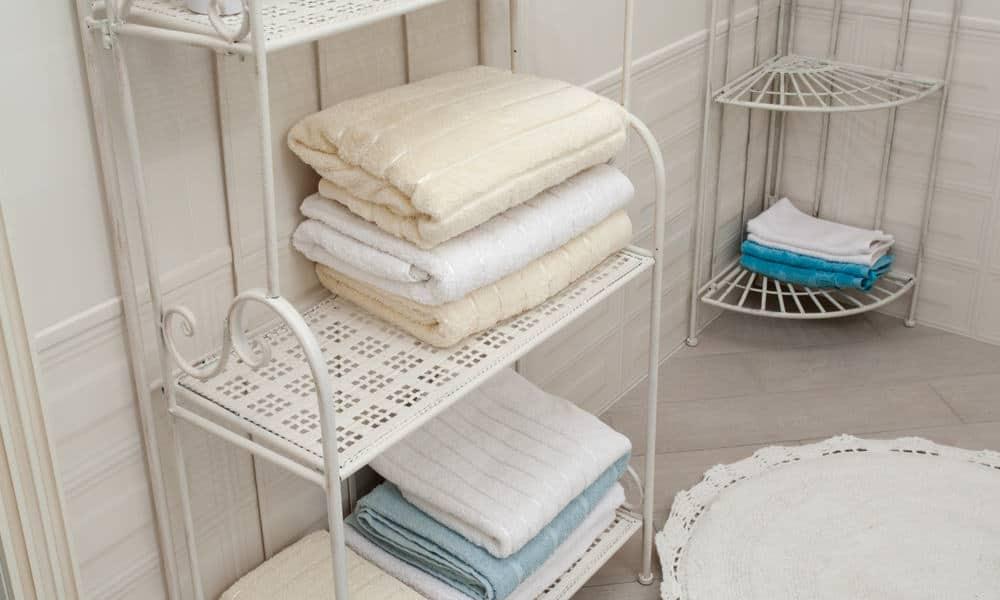 31 Bathroom Towel Storage Ideas - Towel Storage for Small Bathroom