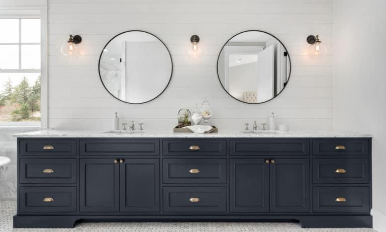 27 DIY Bathroom Vanity Makeover Ideas