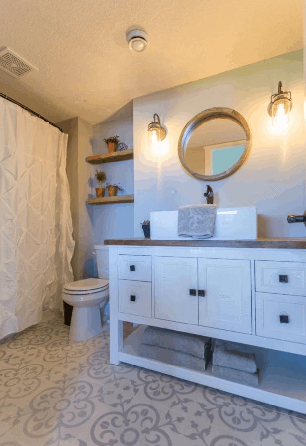 Butcher Block Bathroom Vanity – How to Build