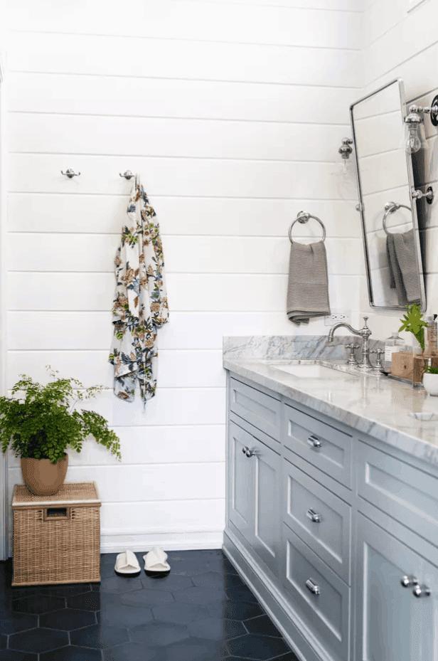 DIY Bathroom Vanity Makeover from Hunker