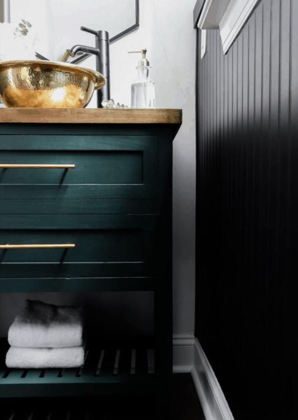 DIY Bathroom Vanity Plan