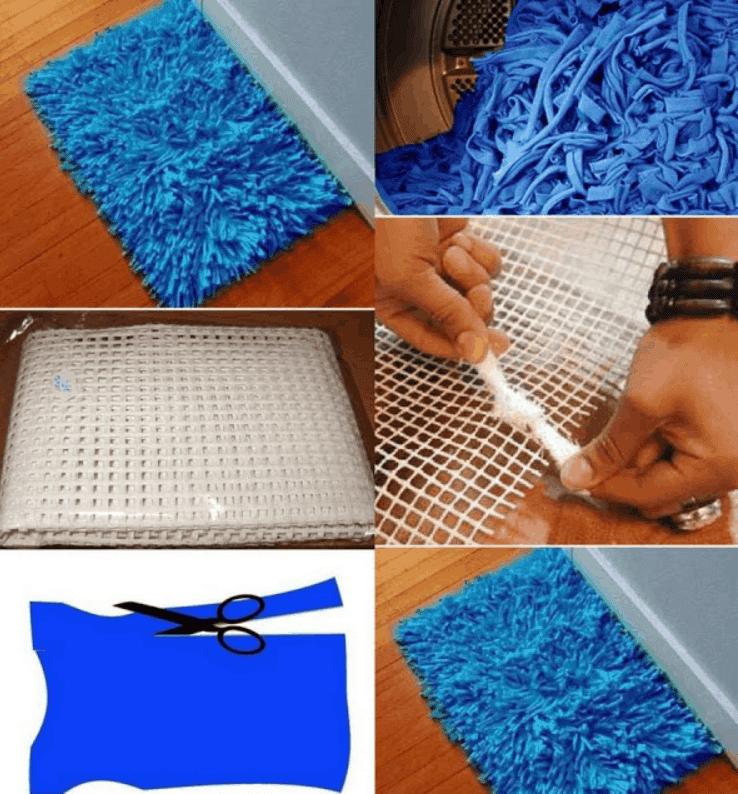 Homemade Bath Rug – DIY