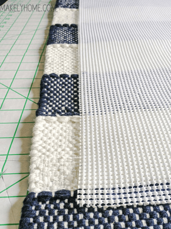 How to Create a Non-Slip Bathmat from a Cotton Rug
