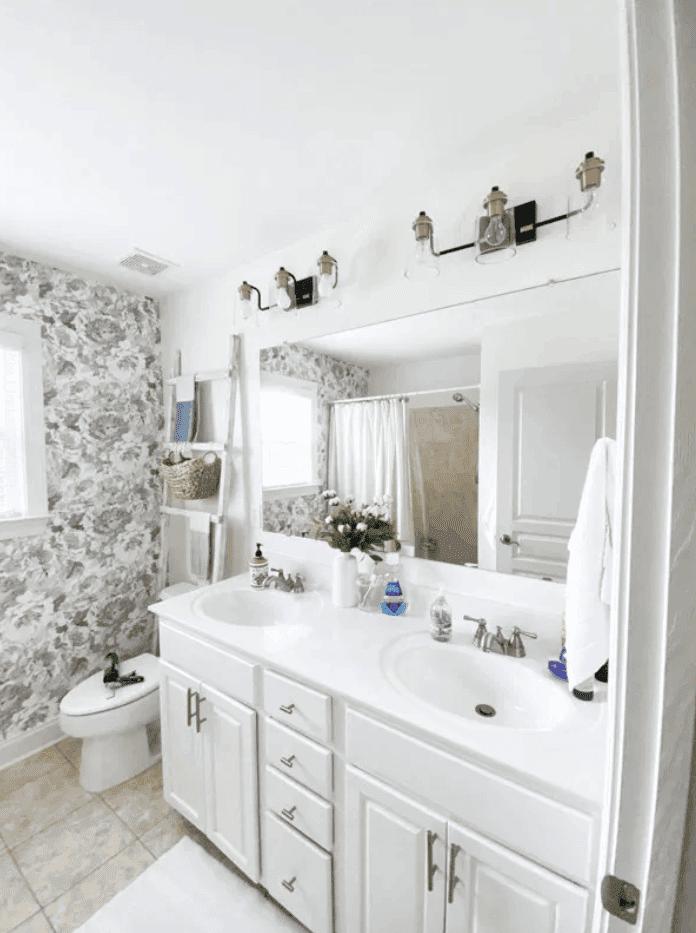 How to Frame a Bathroom Mirror