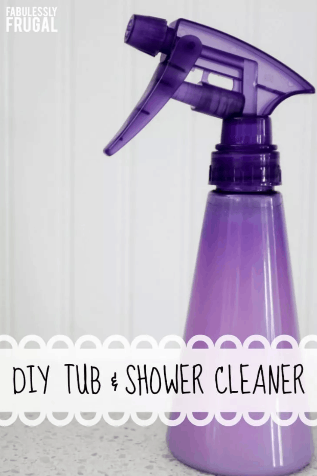 How to Make a DIY Shower Cleaner (2 Ingredients)