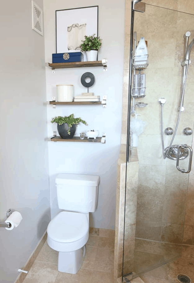 How to Style Shelves in your Bathroom