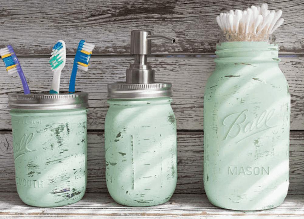 Mason Jar for A DIY Tissue Holder