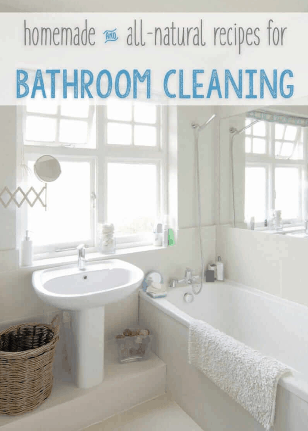Natural Bathroom Cleaning