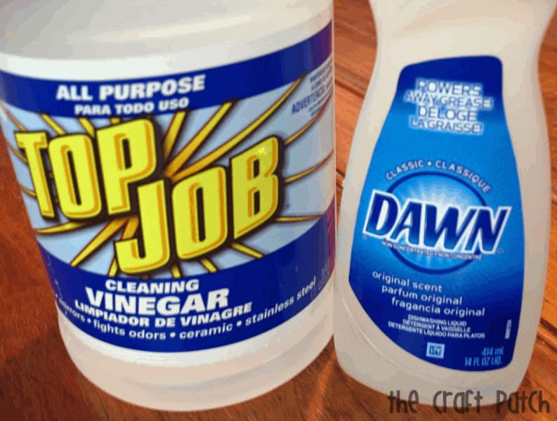 No Scrub Miracle Tub Cleaner