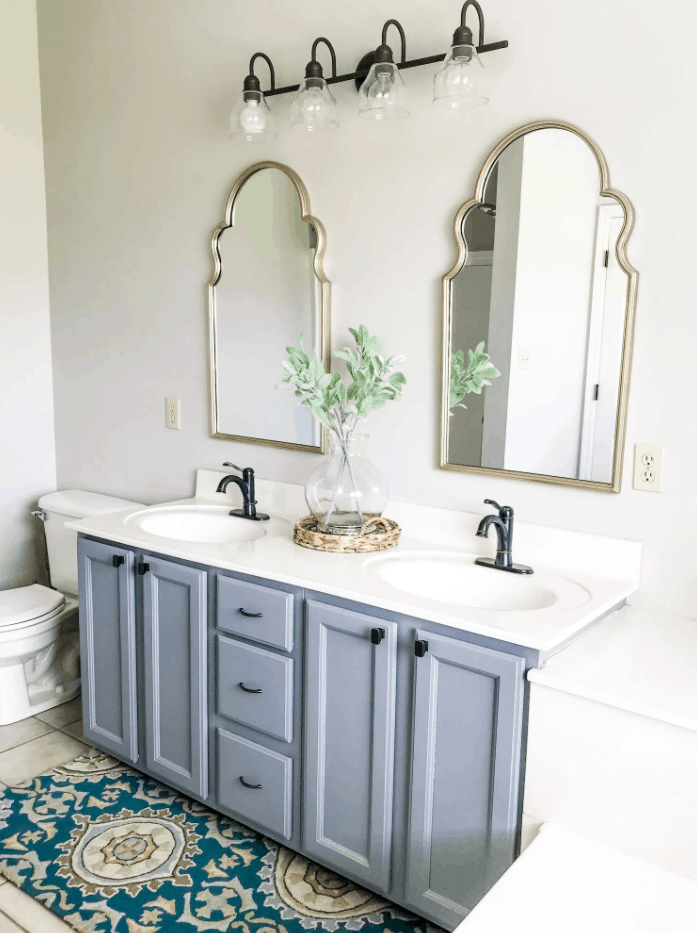 Our Master Bathroom Vanity Makeover