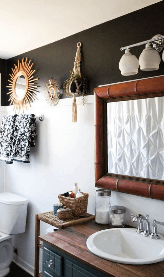 The Foolproof Way to DIY Wood Countertops for a Bathroom