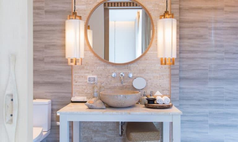 27 Homemade Bathroom Light Fixture Plans You Can DIY Easily