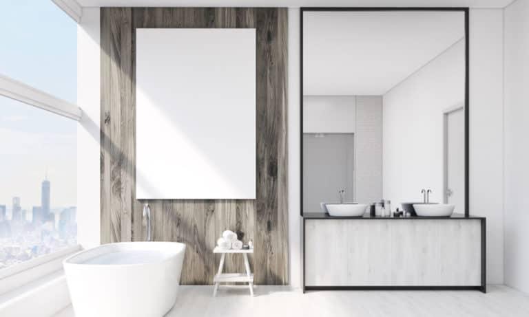 27 Homemade Bathroom Wall Art Ideas You Can DIY Easily