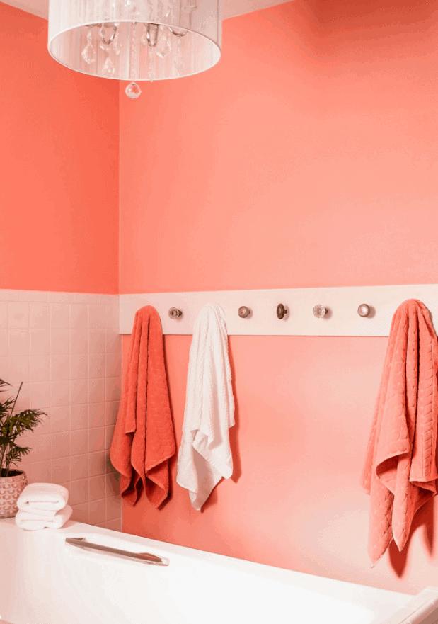 DIY Doorknob Towel Rack