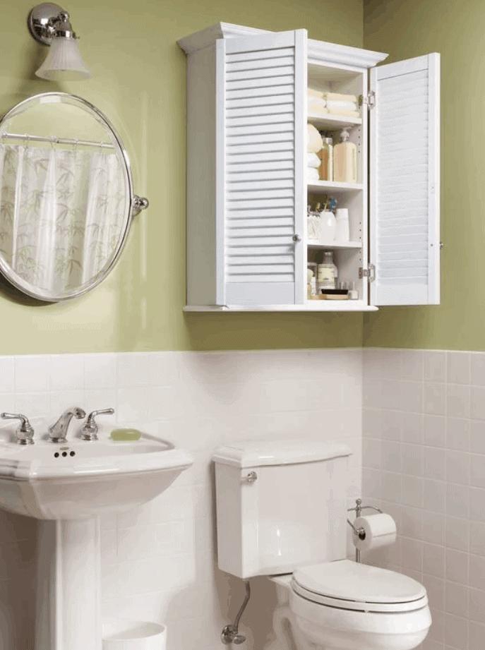 Make a Super-Simple Bath Cabinet