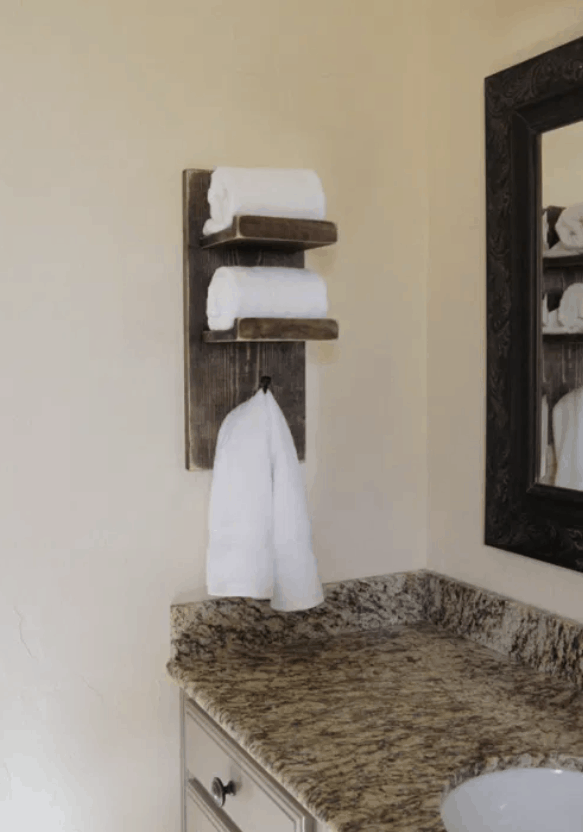 Super-Cute DIY Towel Holder