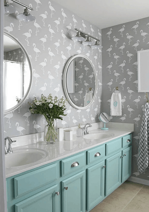 Wall Stencils – The Secret to Remodeling Your Bathroom on a Budget