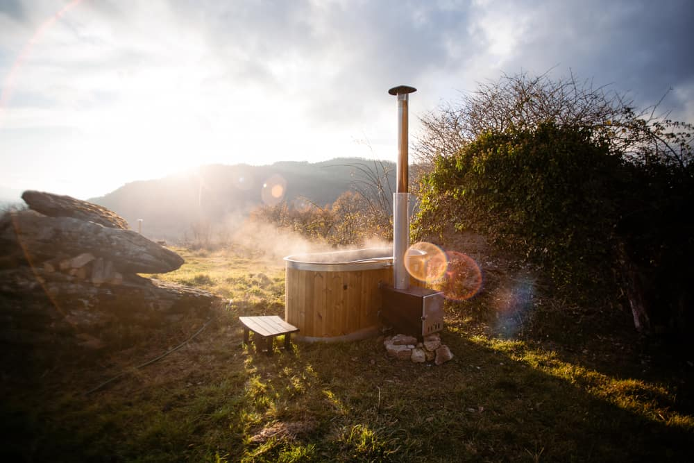 17 Homemade Wood-Fired Hot Tub Plans