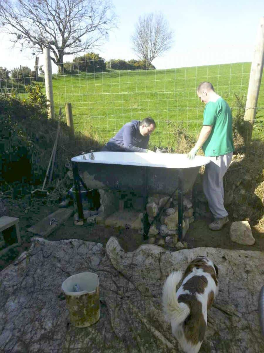 Build a Wood-Fired Cob Bath for Free