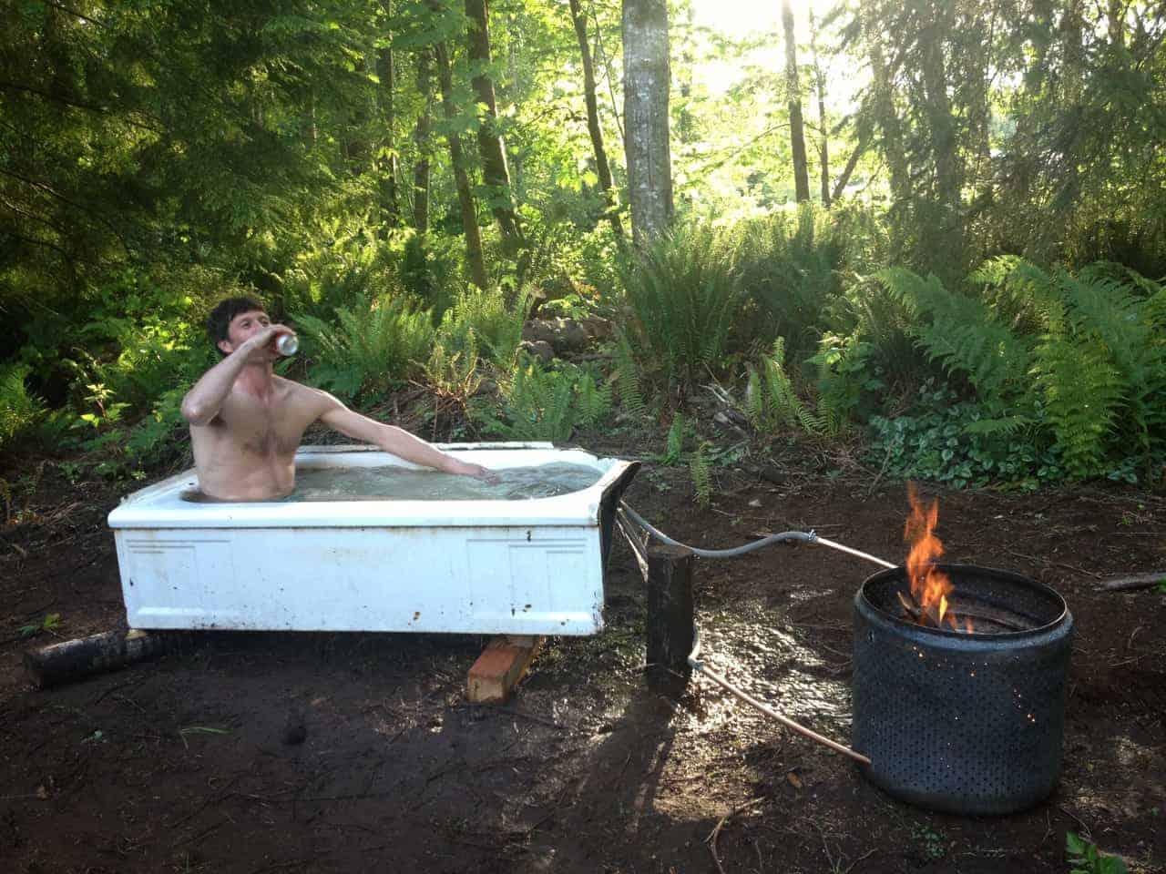 Building a Backcountry Hot Tub – Teton Gravity Research