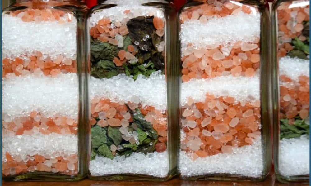 Candy Cane DIY Bath Salt