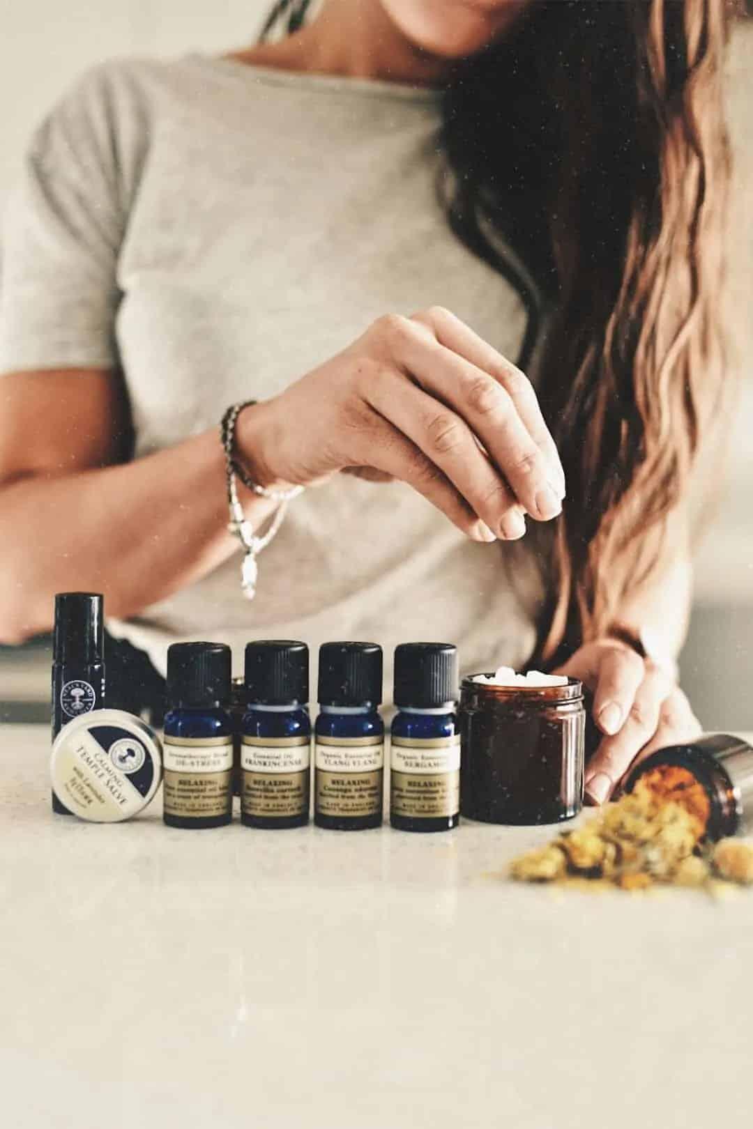 DIY Aromatherapy Bath Oil