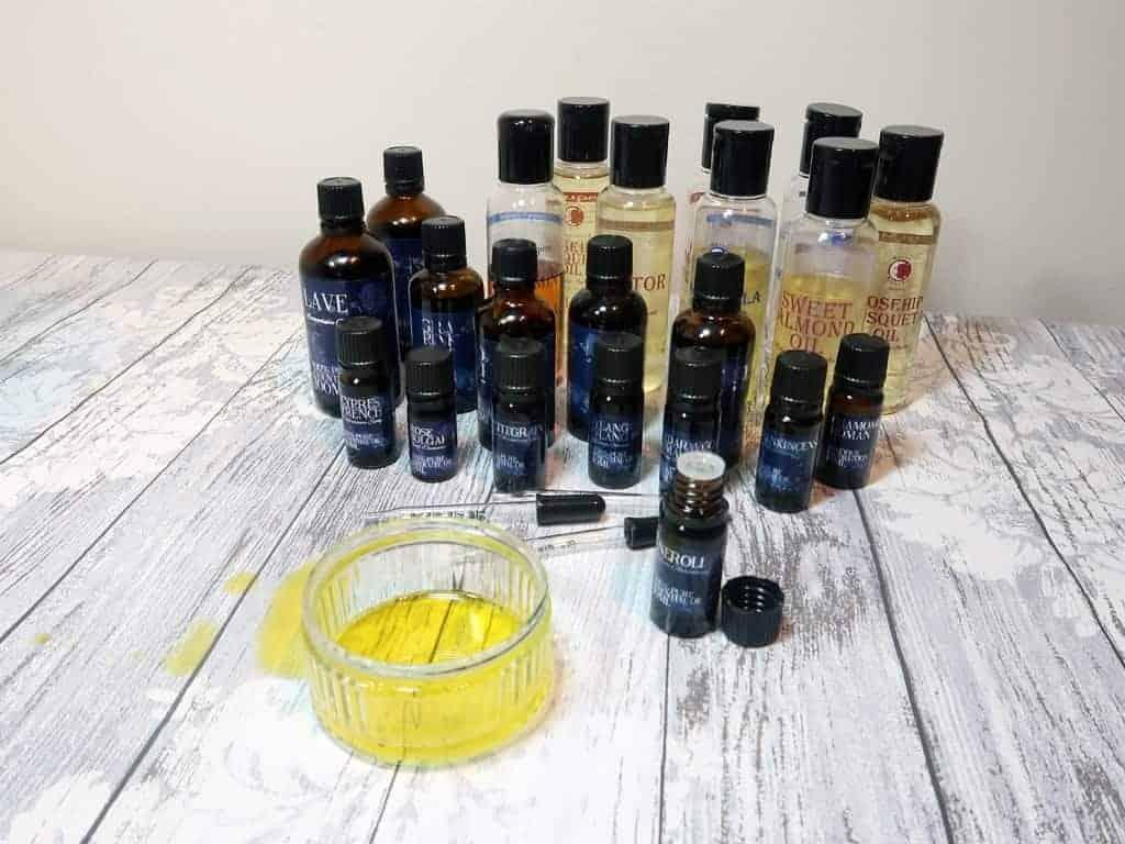 DIY Bath Blend Oils