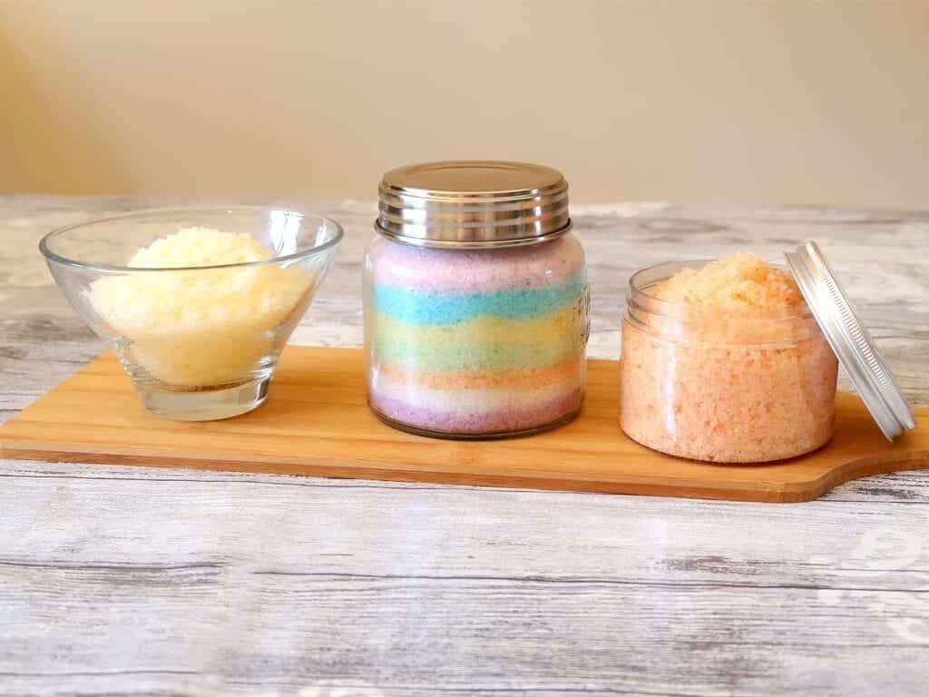 DIY Bath Salts For Girls and Guys