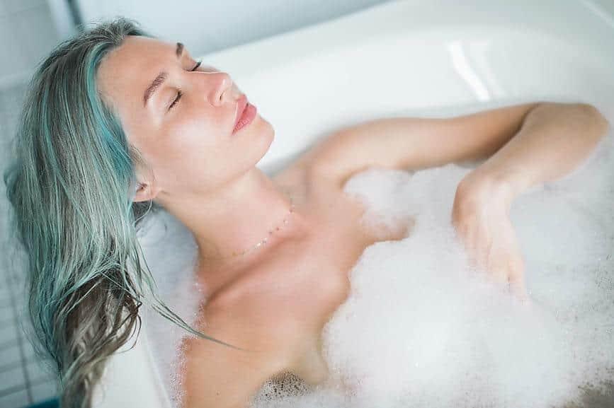 DIY Bubble Bath for Sensitive Skin