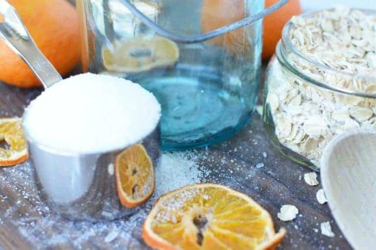 DIY Citrus Oat Soak