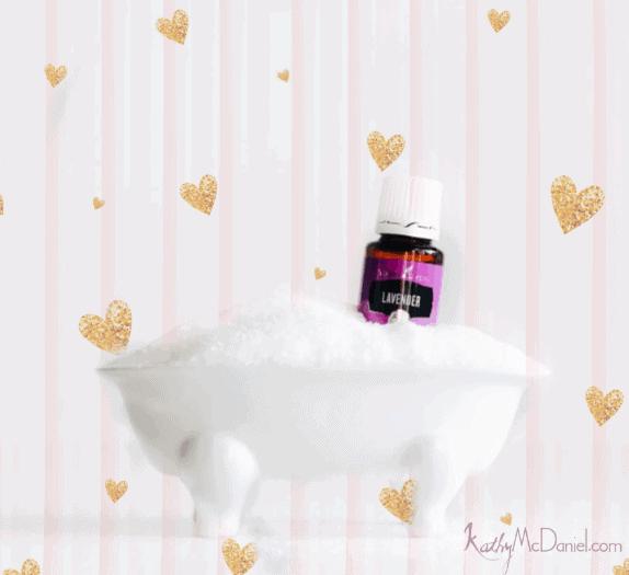 DIY Luxurious LavenderRose Milk Bath