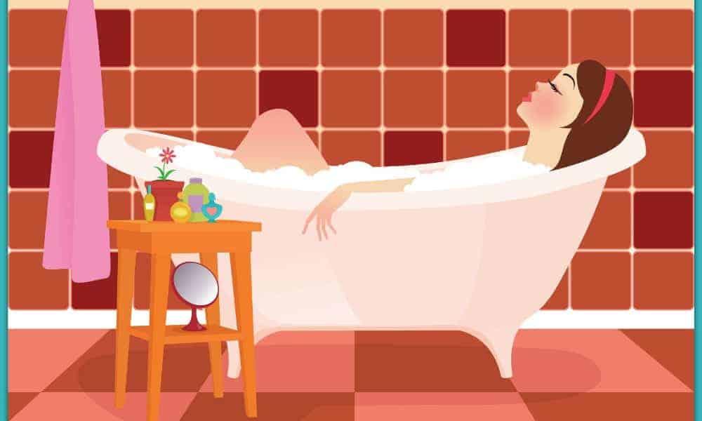 DIY Natural Bubble Bath