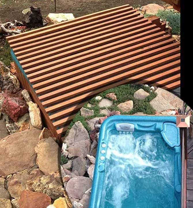DIY Rollable Cedar Hot Tub Spa Cover – Hometalk