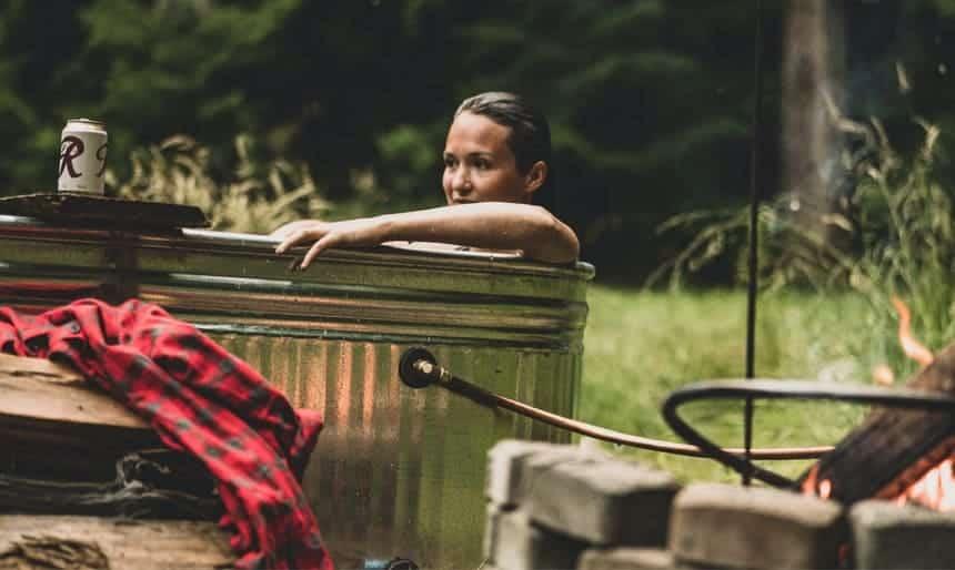 DIY Stock Tank Hot Tub – The Filson Journal