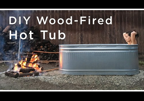 DIY Wood Fired Hot Tub – Homesteadlifestyle.com